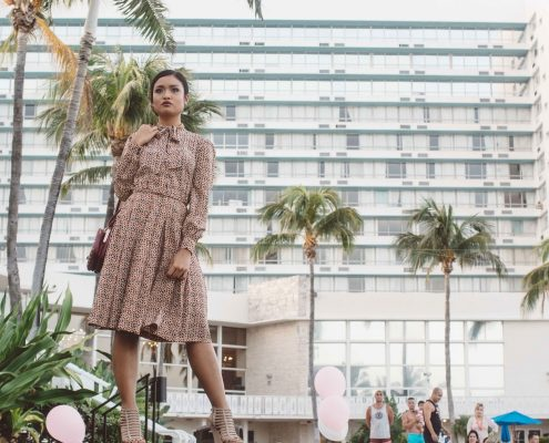 deauville beach resort fashion show especial events