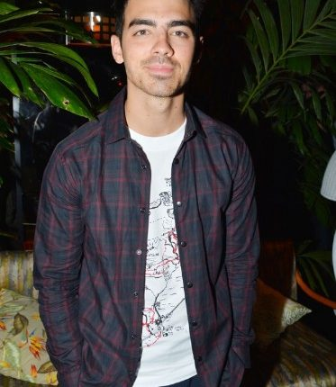 Joe Jonas at Deauville