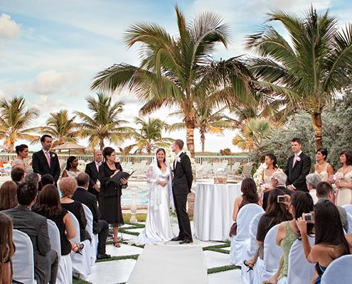 deauville beach resort wedding at the beach miami
