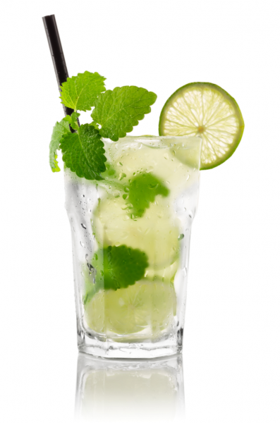Close up of a Mojito cocktail