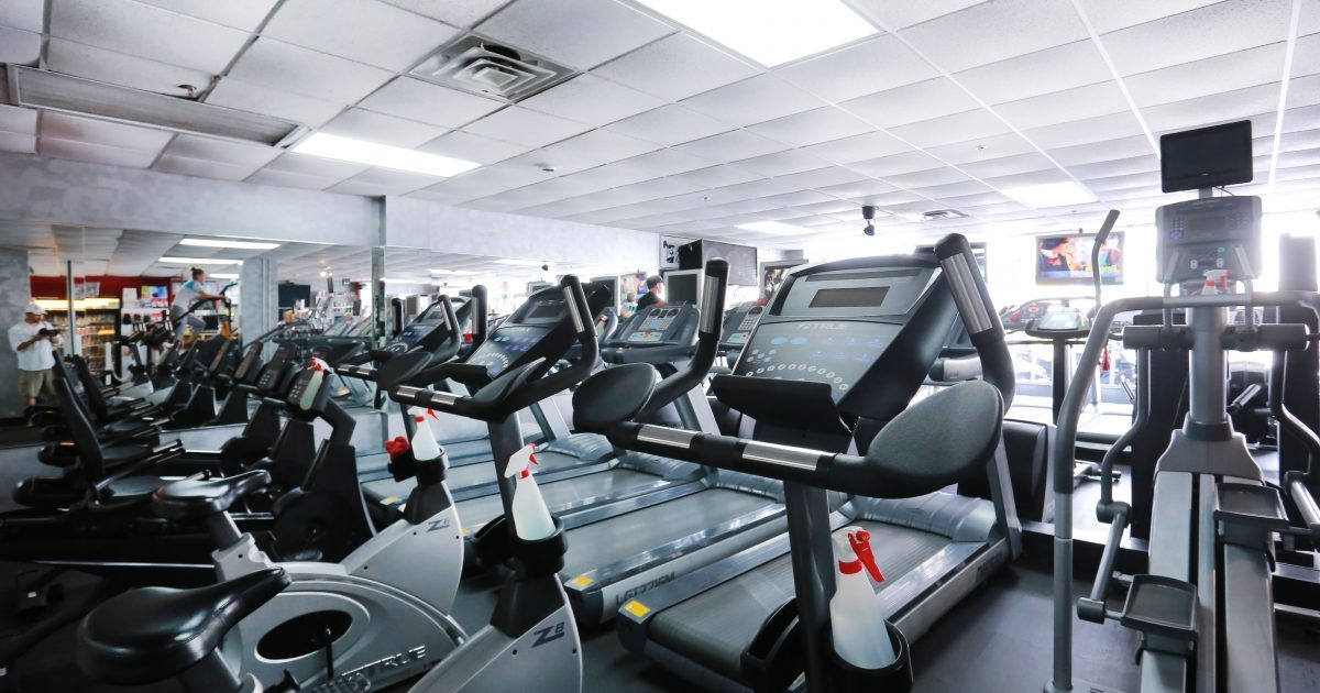 Deauville Beach Resort gym fitness center