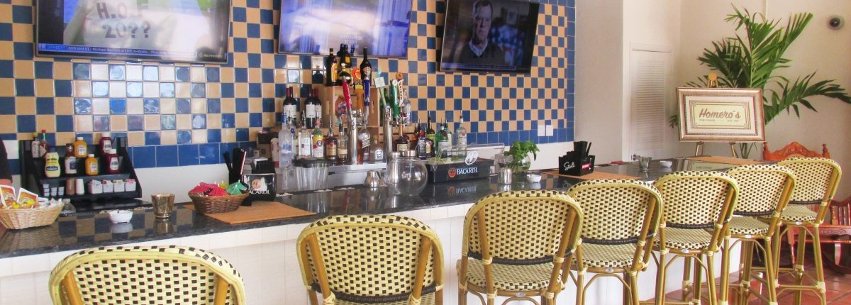 Homero's Cuban Cuisine at the Deauville Beach Resort