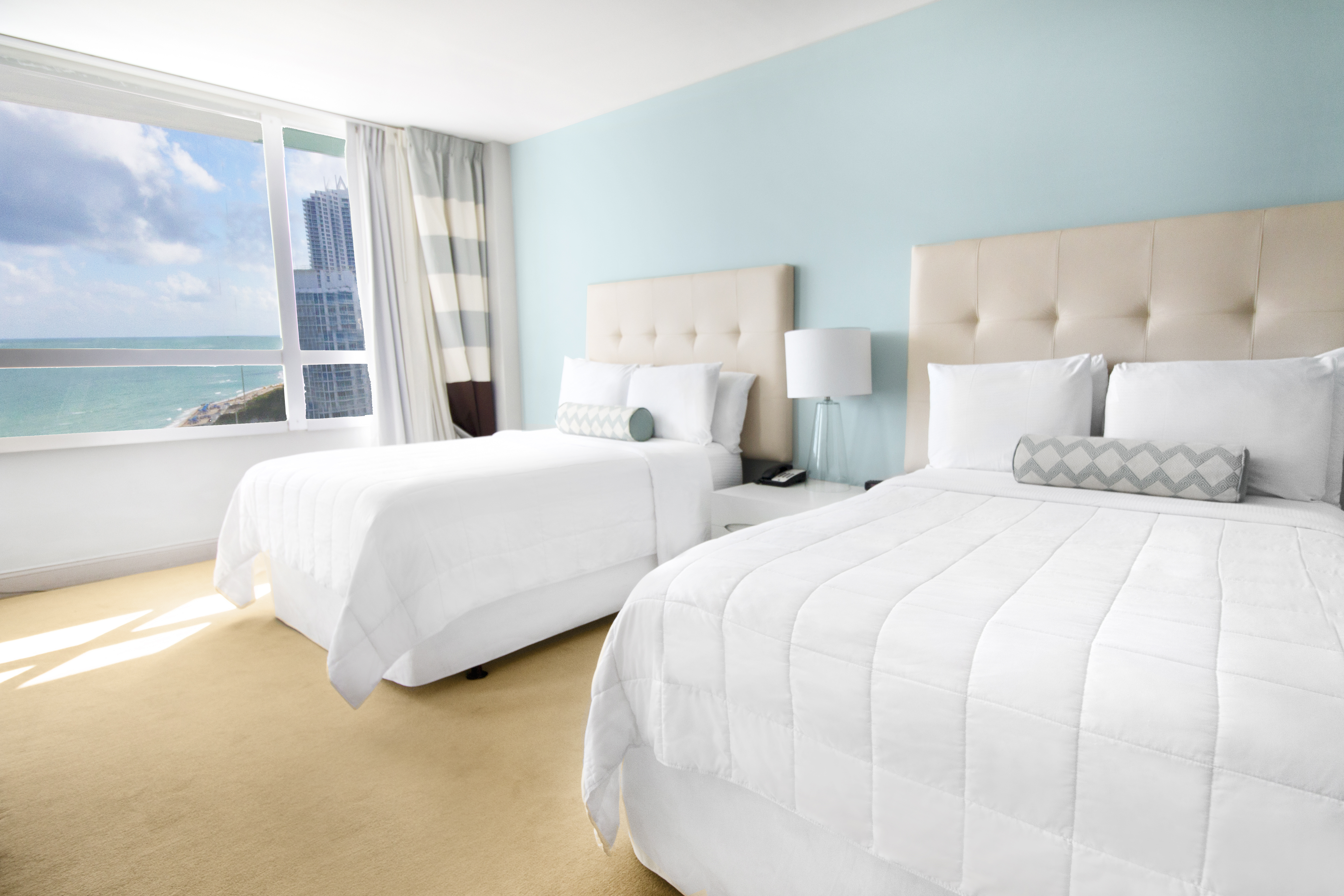 Executive ocean view beds
