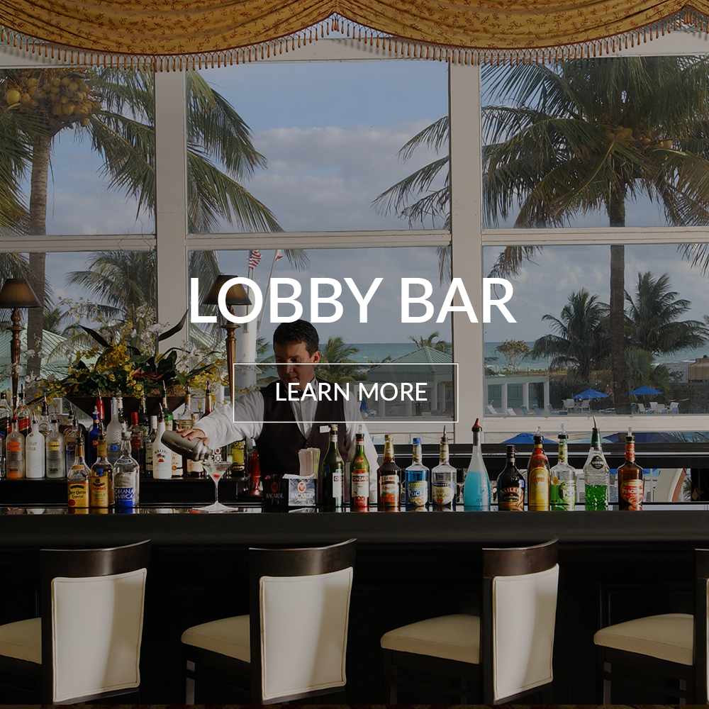 Lobby Bar at the Deauville Beach Resort