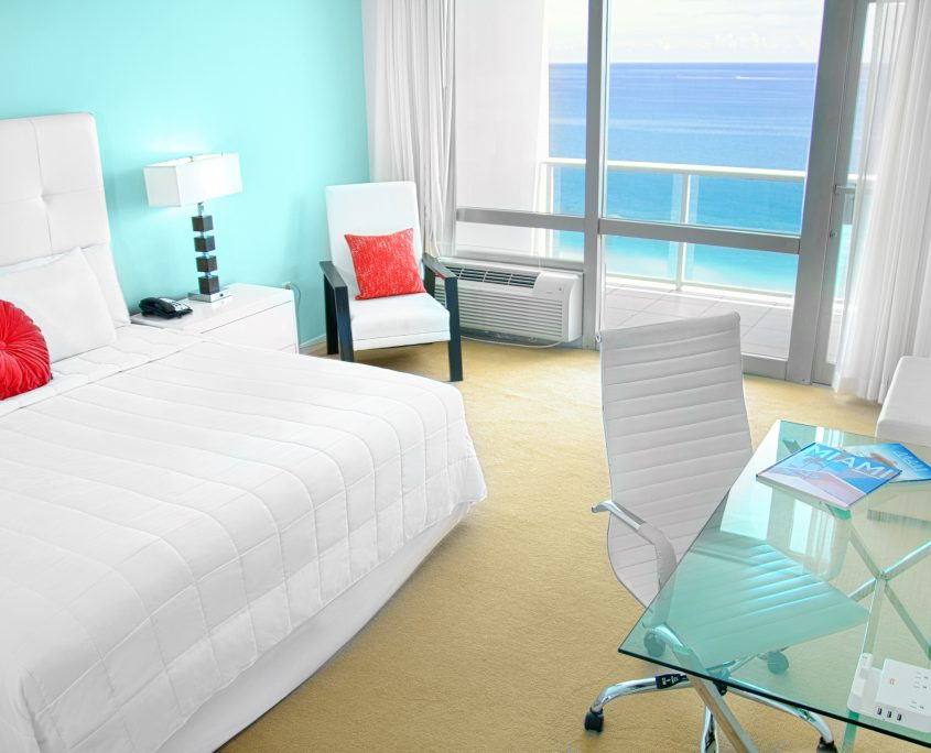 Standard oceanfront desk