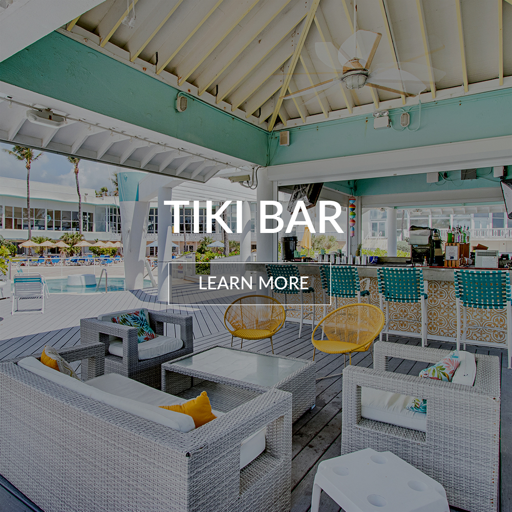 Tiki bar at the Deauville Beach Resort