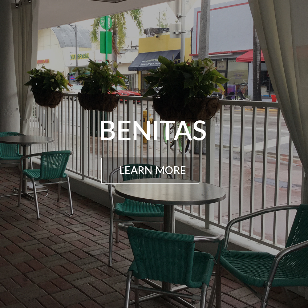 Benitas cafe at the Deauville Beach Resort