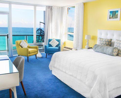 Deluxe oceanfront suite