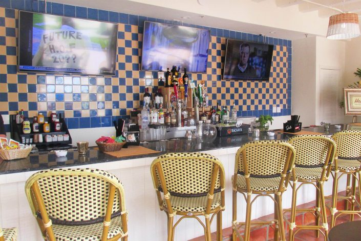 Inside of Homero's Bar at the Deauville Beach Resort
