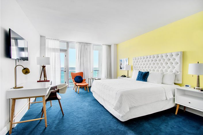 Executive Oceanfront Room type at the Deauville Beach Resort
